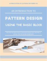 cover for pattern design e-book