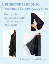 cover for Sleeve and Cuff tutorial