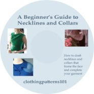 DVD cover for Beginner's Guide to Necklines and Collars tutorial