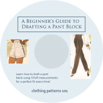 DVD cover for Pant Block tutorial