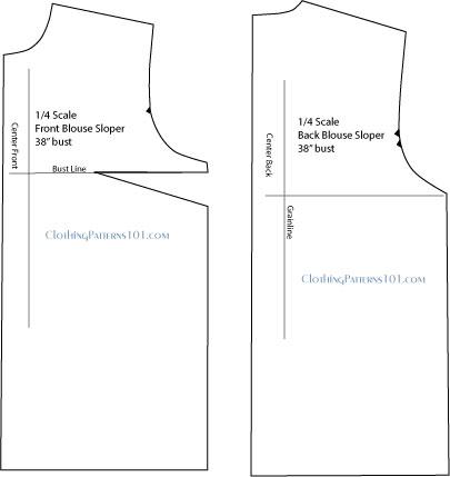final blouse pattern