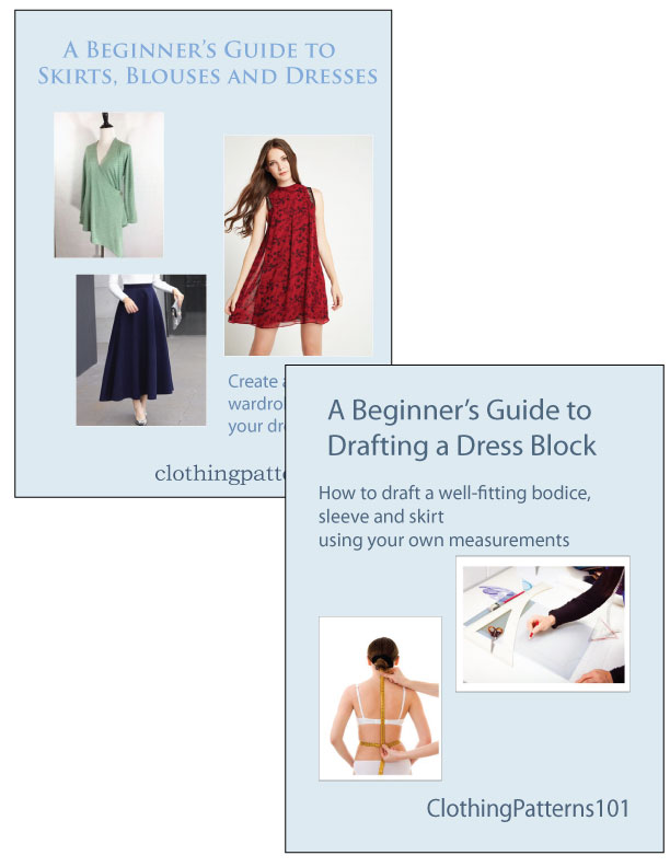covers for Dress Block and Blouse, Skirt and Dress tutorial bundle