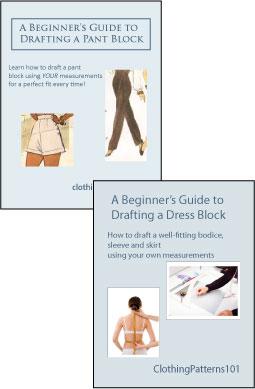 Covers for dress block and pant block tutorials