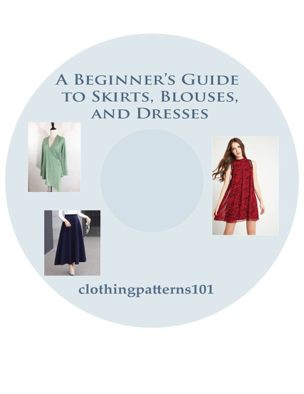 DVD cover for Blouse, Skirt, and Dress tutorial