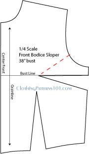 sketch showing dart manipulation