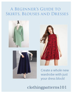 cover for Blouse, Skirt and Dress tutorial