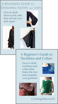 covers for Neckline/collar tutorial and Sleeve tutorial