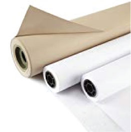 rolls of craft paper for making patterns